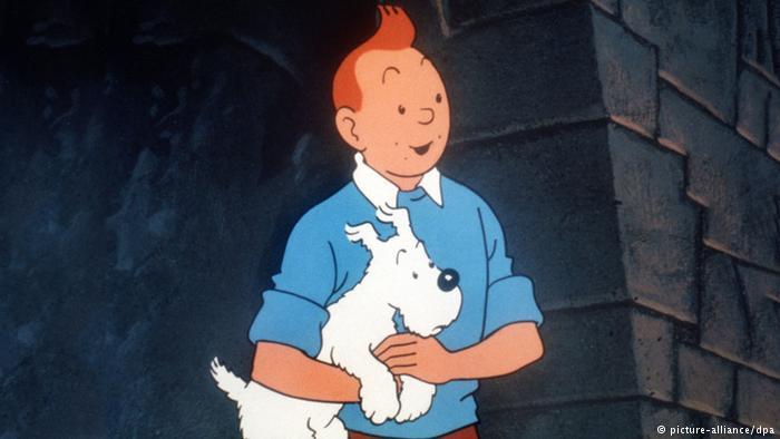 Tim und sein Hund Struppi (picture-alliance/dpa)
