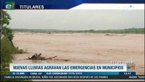 Video titulares de noticias de TV – Bolivia, mediodía del viernes 11 de enero de 2019