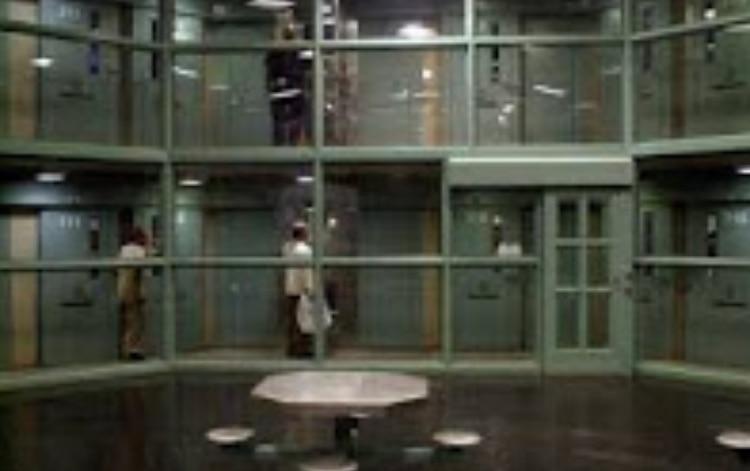 En el módulo H duermen los prisioneros más peligrosos (Foto: Especial)
