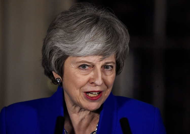 Theresa May (REUTERS/Clodagh Kilcoyne)