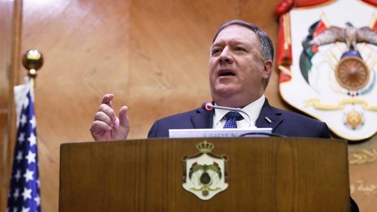 El Secretario de Estado Mike Pompeo (Reuters)