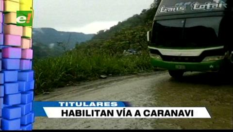 Video titulares de noticias de TV – Bolivia, noche del viernes 8 de febrero de 2019