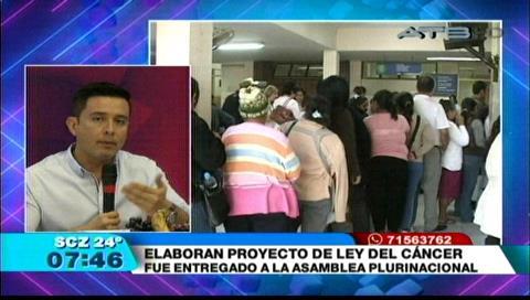 Serrano: Si el oficialismo aprueba el proyecto de ley es porque les importa la lucha contra el cáncer