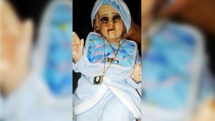 """El """"niño santo"""" lloró por última vez el 4 de marzo (Foto: Twitter @elsolde_mexico)"""