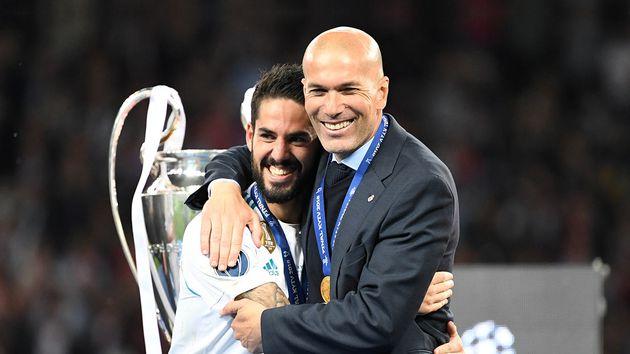 Isco entra en los planes de Zidane con el Real Madrid