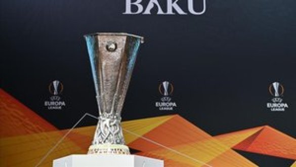 El trofeo de la UEFA Europa League