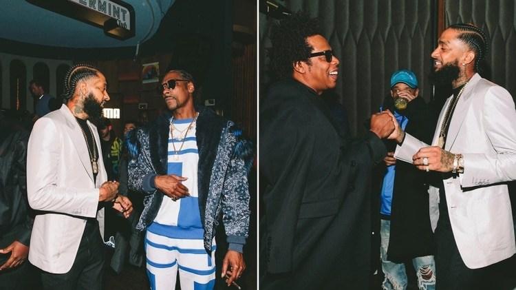 Nipsey Hussle junto a Snoop Dogg y Jay-Z
