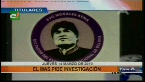 Video titulares de noticias de TV – Bolivia, noche del jueves 14 de marzo de 2019