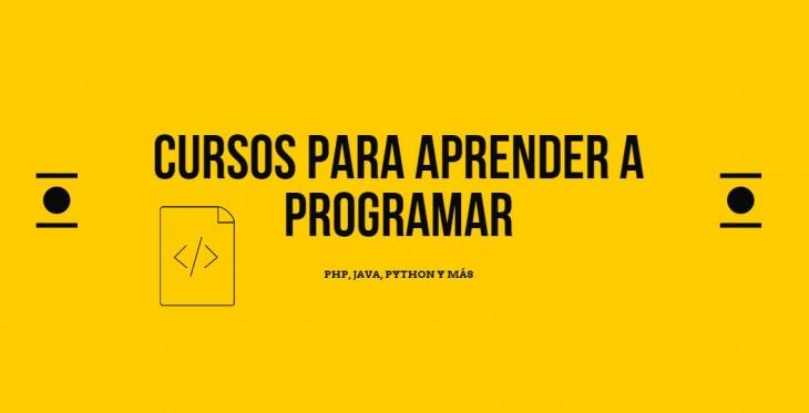 cursos programación