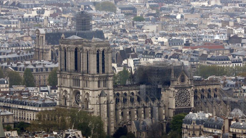 El vicario de la archidiócesis París cuenta cómo fueron los primeros minutos del incendio de Notre Dame