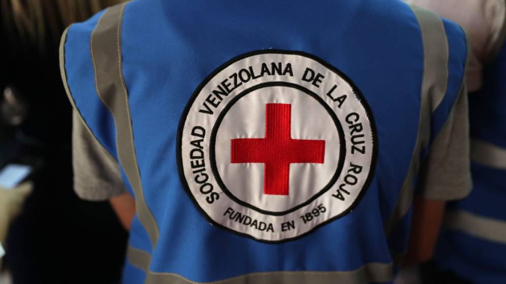 Foto: Cruz Roja venezolana (EFE)