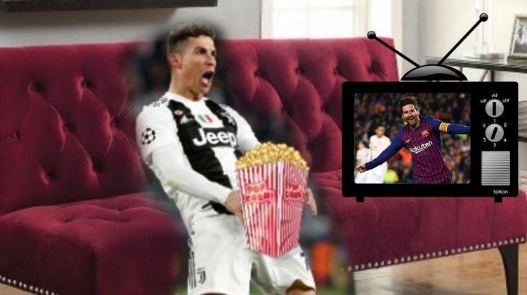 Así vería las semifinales de la Champions League Cristiano Ronaldo