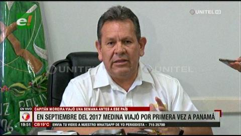 Medina pidió cinco días de vacación para ir a Panamá