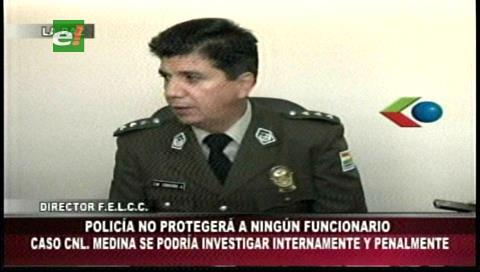 """Director Nacional de la Felcc: """"La Policía no protegerá a nadie"""""""