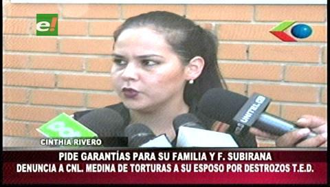 Esposa del concejal Subirana pide garantías al Gobierno tras la destitución de Medina