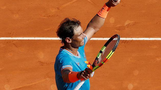 Rafael Nadal arrasó en su debut en el Masters 1000 de Roma