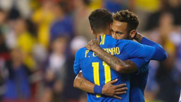 Neymar y Coutinho lideran la lista de convocados de Tite para la Copa América
