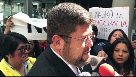 Samuel espera que Almagro sea parte de la solución y no del problema que provoca la reelección de Evo