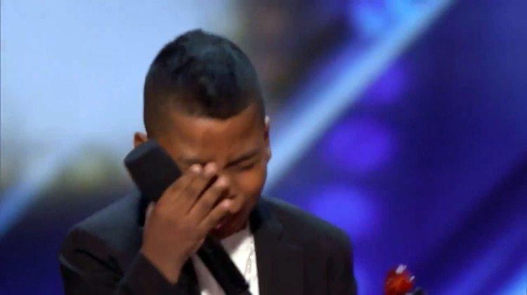 La emoción de Tyler al ver que pasaría directamente a actuar en vivo