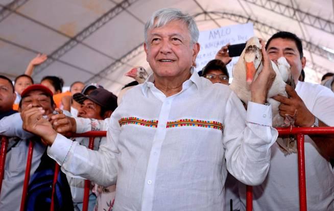 Fotografía cedida por la presidencia de México de Andrés Manuel López Obrador. (EFE)