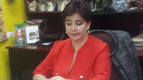La candidata del PDC Paola Barriga