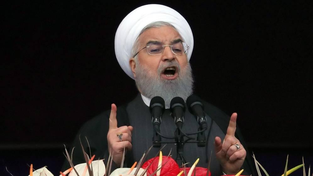 Foto: El presidente iraní, Hasan Rohani, en una foto de archivo. (EFE)