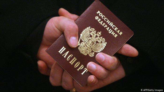 Russischer Pass Personalausweis Russland (AFP/Getty Images)