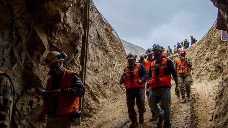 Un minero rescatado, uno muerto y otro aun desaparecido en Chile