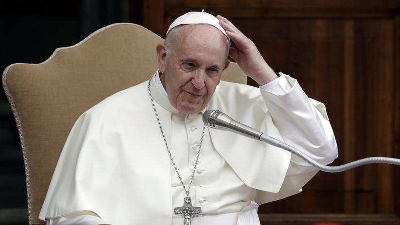 El papa Francisco insta a una