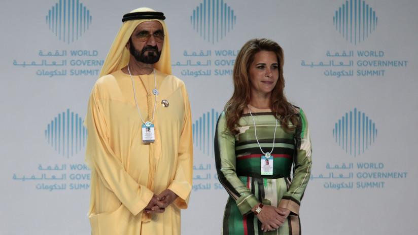 Esposa de gobernante de Dubái huye para buscar asilo y divorcio