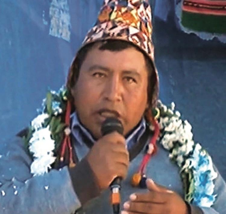 El dirigente campesino Ever Rojas amenazó con envenenar a los opositores.