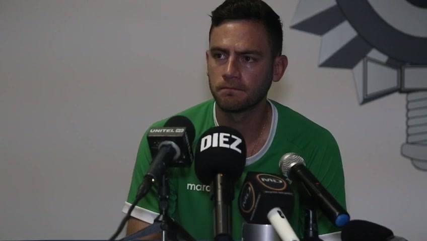 Fernando Saucedo: «Todo el mundo nos trata como los peores del torneo»