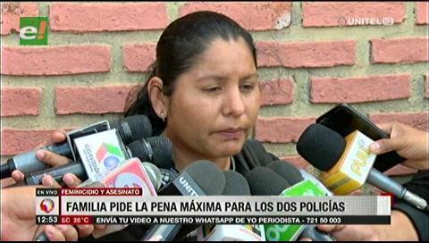 Cautelarán a policías por asesinato de Rigoberta Barrios