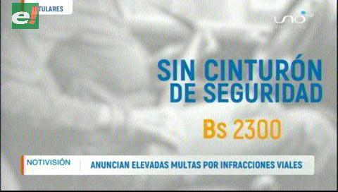 Video titulares de noticias de TV – Bolivia, mediodía del lunes 17 de junio de 2019