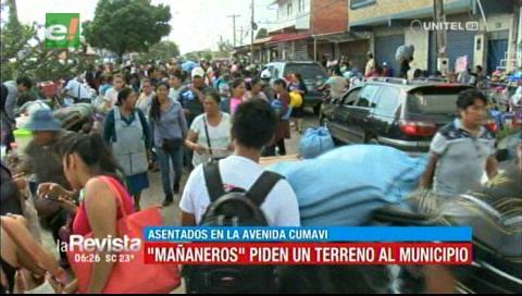 «Mañaneros» piden un terreno al municipio, comerciantes continúan en la Cumavi