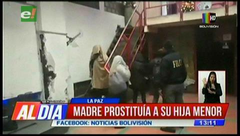Madre prostituía a su hija menor de edad
