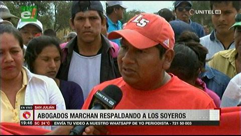 Los abogados apoyan la demanda de los productores de soya en San Julián