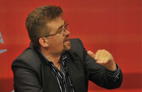 Diego Ayo, vocero de Carlos de Mesa. Foto: Archivo-La Razón