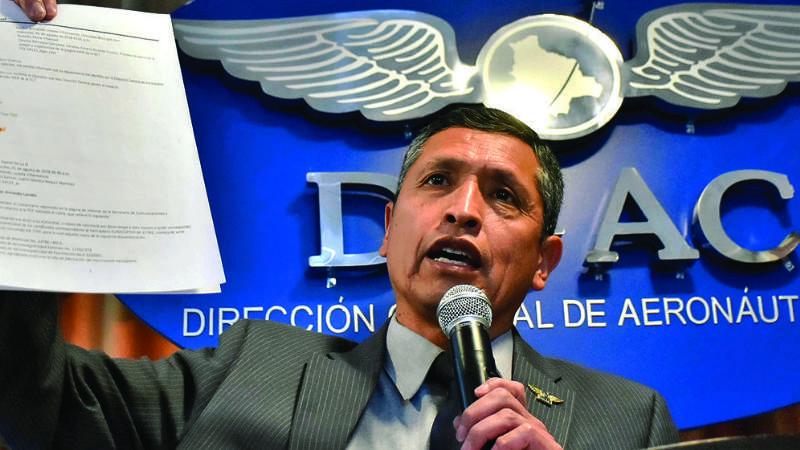 Denuncian a director de DGAC por retener partes de sueldos