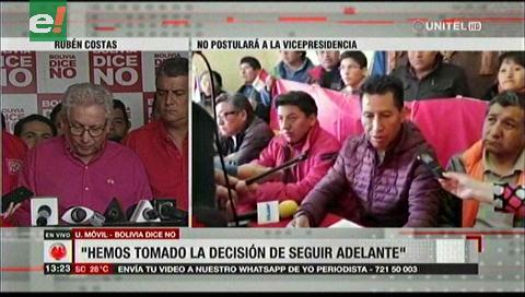 Rubén Costas: «Hemos tomado la decisión de seguir adelante»