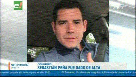 Caso Mauriel: Dan de alta a Sebastián Peña
