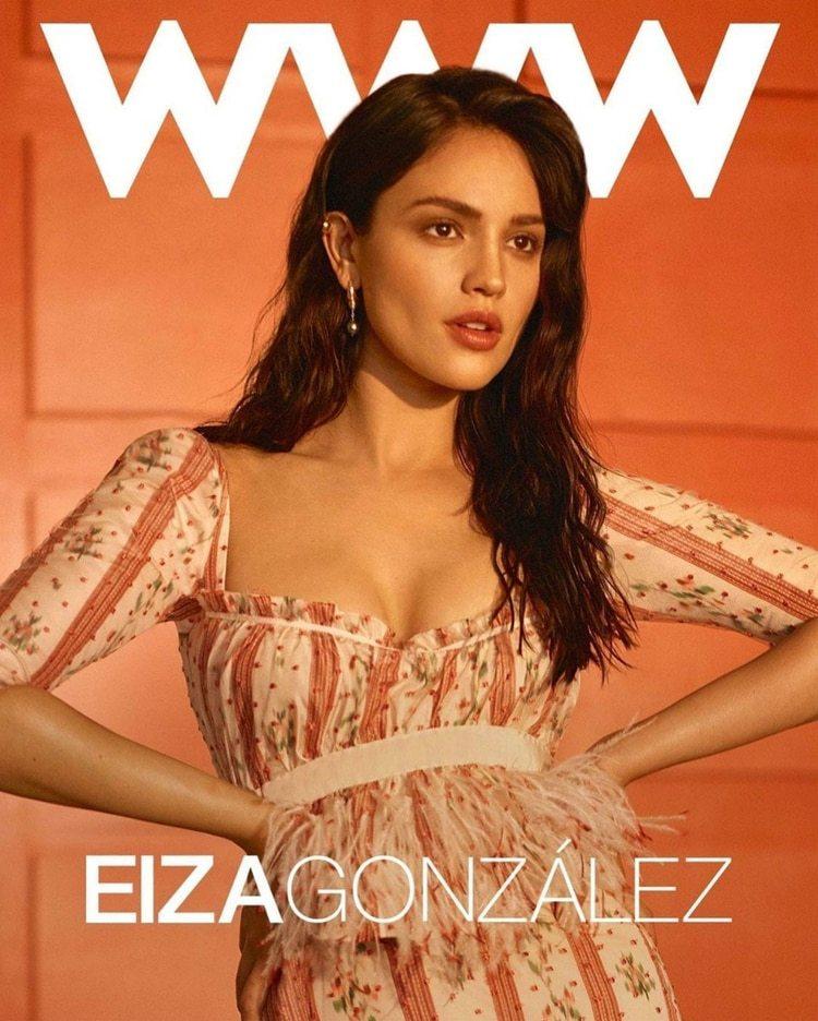 Eiza es la figura en el número de julio de la revista