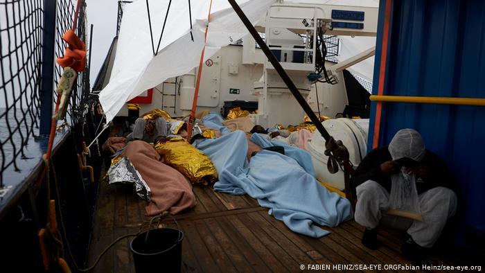 El barco Alan Kurdi ya pudo rescatar a cantidades de personas de morir ahogadas en el Mediterráneo.