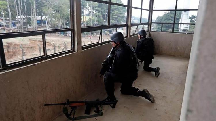 Incidentes en la cárcel Pavón de Guatemala (EFE)