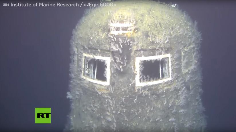 Un submarino nuclear soviético hundido en 1989 sigue emitiendo radiación