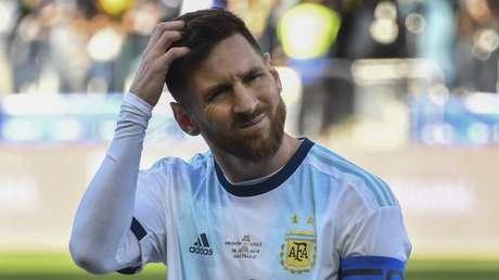 El capitán de la selección argentina, Lionel Messi.