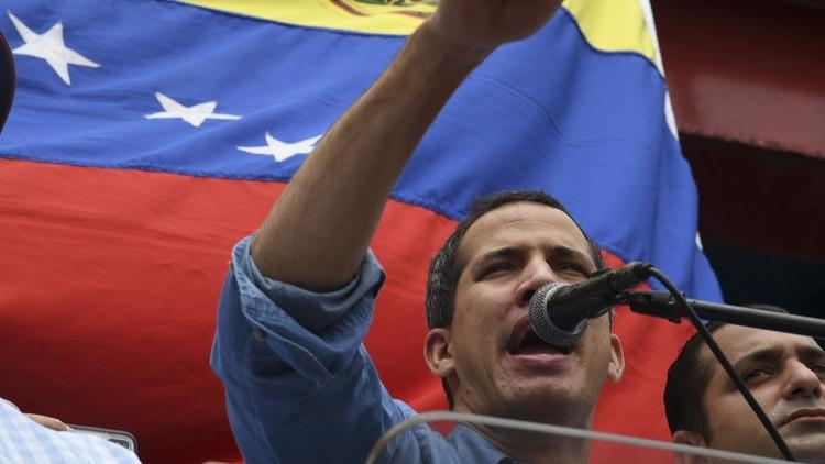 Juan Guaidó. (Photo by Yuri CORTEZ/AFP)