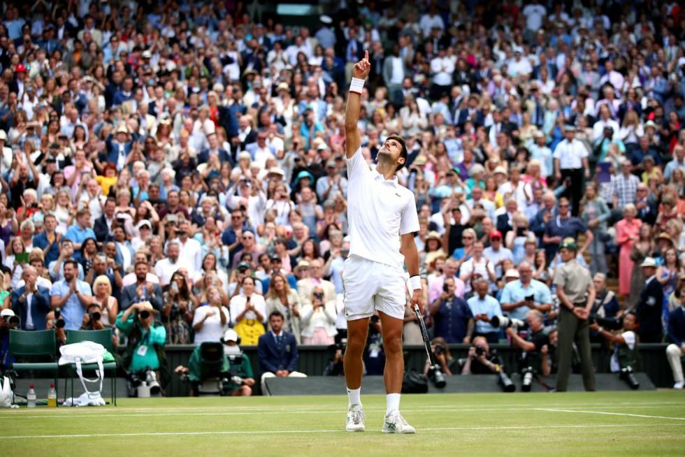 Un todoterreno: Novak Djokovic cantó La Vaca Lola después de ganar Wimbledon