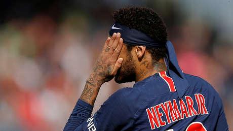 El brasileño Neymar Jr.