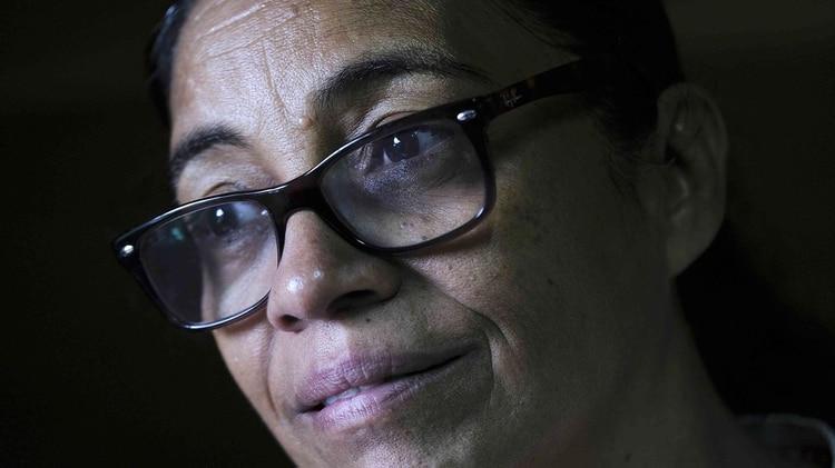 La presidenta del Centro por la Justicia y los Derechos Humanos de la Costa Atlántica de Nicaragua (Cejudhcan), Lottie Cunningham(EFE/Jeffrey Arguedas)